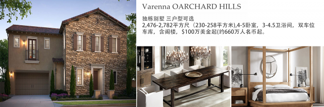 Varenna at Orchard hills 小区